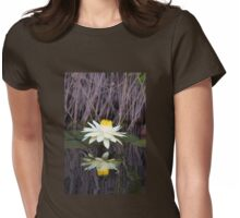 Water Lily Womens Fitted T-Shirt