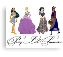 Pretty Little Princesses 2 Canvas Print