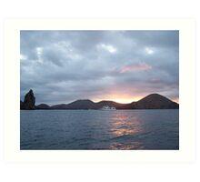 Galapagos Overlook Art Print