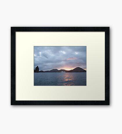 Galapagos Overlook Framed Print