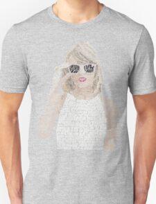 Taylor Swift Typography Unisex T-Shirt
