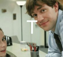 Jim and Pam - OTP Sticker