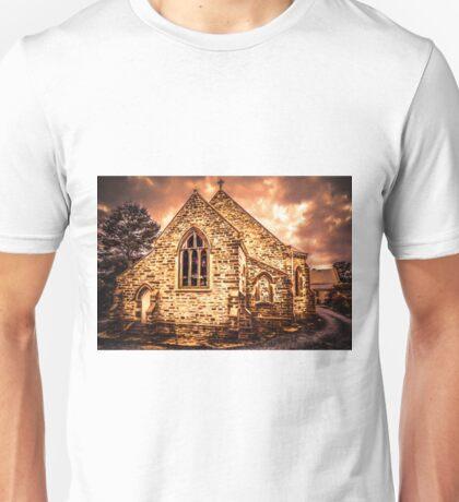 Painted Church Unisex T-Shirt