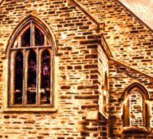 Painted Church Sticker