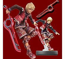 Xenoblade Chronicles Shulk Super Smash Bros Amiibo T-Shirt Photographic Print