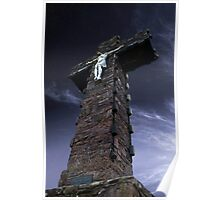 Corrin Cross At Night Poster