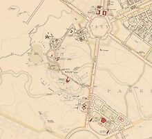 Canberra Acton Map 1933 by WoodenDuke
