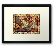 ...On a Horse with No Name Framed Print