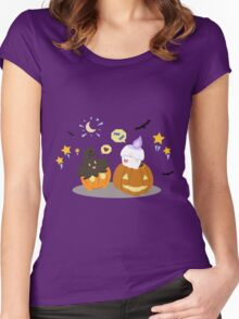 Pokemon Trick-or-Treat Women's Fitted Scoop T-Shirt