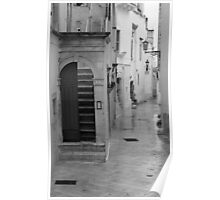 Puglia Street Poster