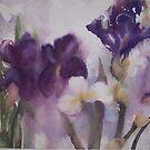 Japanese Iris by Ellen Keagy
