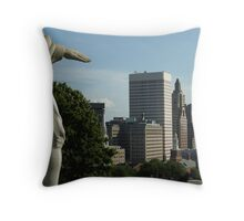 Guiding hand Throw Pillow