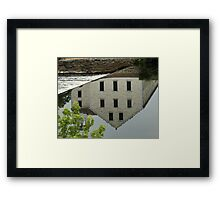 Slater Mill Framed Print