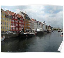Copenhagen, Denmark Poster