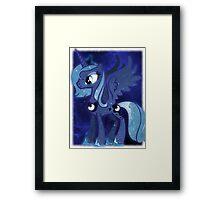 Cosmic Princess Luna (Version 3/4) Framed Print