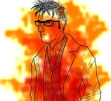 Tenth Doctor Sees Red by jemscribbles