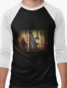 music....... Men's Baseball ¾ T-Shirt