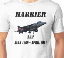 RAF HARRIER Rest In Peace Unisex T-Shirt