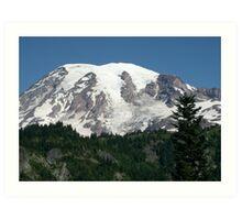 Mount Rainier Art Print