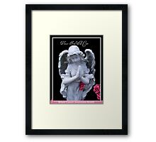 Please Find A Cure Angel Framed Print