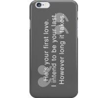 Last Love iPhone Case/Skin