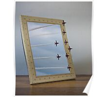 planes in frame Poster