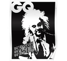 Beetlejuice GQ cover Poster
