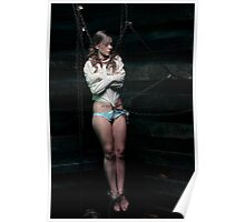 Alice Suspended in the Straight Jacket Poster