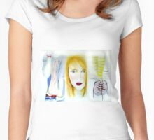 Young and pretty  Women's Fitted Scoop T-Shirt