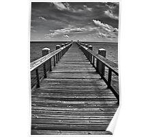Endless Pier Poster