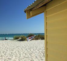 Beach Box - McRae Beach, Victoria, Australia by Chris Jones