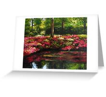 The Spring In Washington Greeting Card