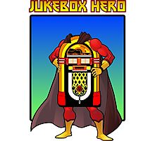 Jukebox Hero Photographic Print