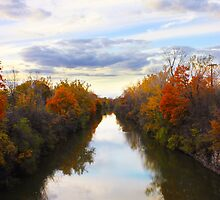 autumn canal by Athanasios Hristodoulou