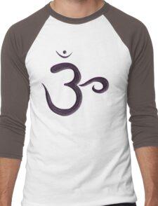 Sahasrana Chakra (crown) Men's Baseball ¾ T-Shirt