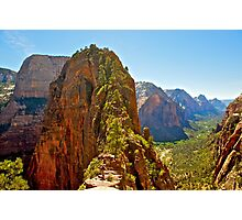 Angel's Landing Photographic Print