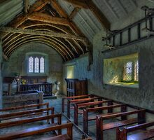 Olde Country Church by Ian Mitchell