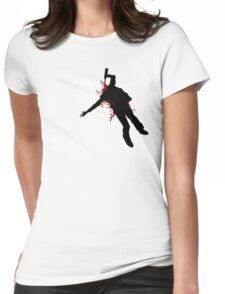 Dying Slowly Womens Fitted T-Shirt