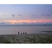 A  Tranquil Torres Strait Sunset Photographic Print