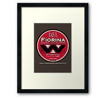"Fiorina ""Fury"" 161 Framed Print"