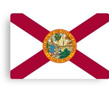 State Flags of the United States of America -  Florida Canvas Print