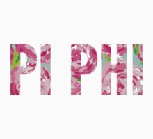Pi Phi Floral by Shannon Burt