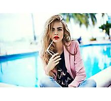 Cara Photographic Print