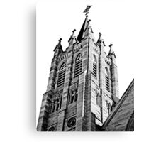 The Bell Tower. Saint Marys Church, Warwick Queensland Canvas Print