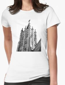 The Bell Tower. Saint Marys Church, Warwick Queensland Womens Fitted T-Shirt
