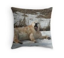 I Want That Stick Lance! Throw Pillow