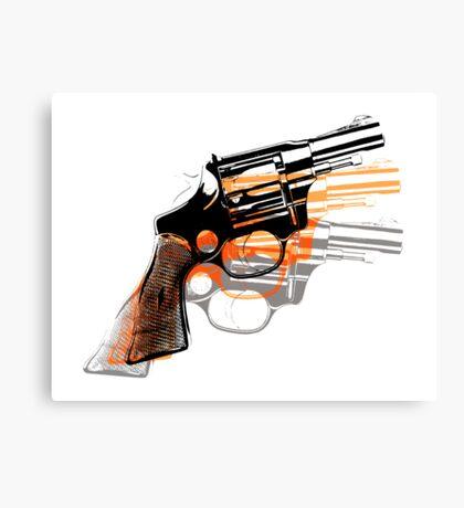 Got Yourself a Gun (Left)... Canvas Print