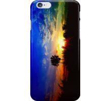 UFO SUNSET iPhone Case/Skin