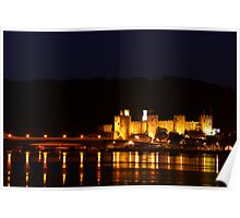 Conwy Castle (Wales, UK) Poster