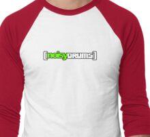 NoisyDrums LOGO  Men's Baseball ¾ T-Shirt